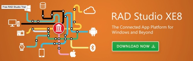 Embarcadero RAD Studio XE8問世!