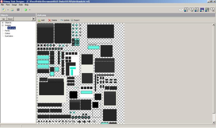 bitmap_style_designer