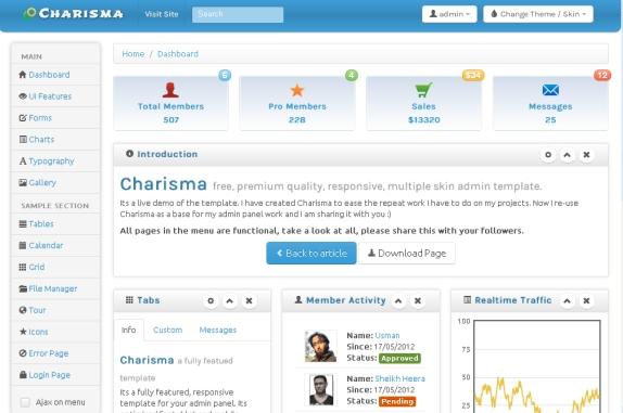 charisma-admin-templates-bootstrap
